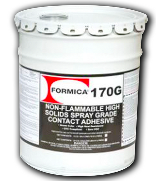 Formica N/F Green Spray Contact Adhesive 5 Gallons F-170G-05