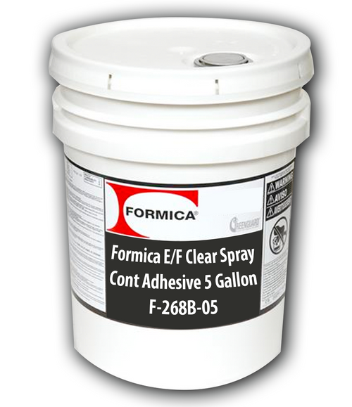 Formica E/F Clear Spray Cont Adhesive 5 Gallons F-268B-05