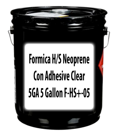 Formica H/S Neoprene Con Adhesive Clear 5GA 5 Gallons F-HS+-05
