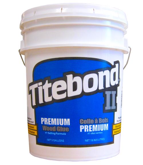 Franklin Titebond II Premium #5007 Wood Glue 5 Gallons F-TGII-5GA