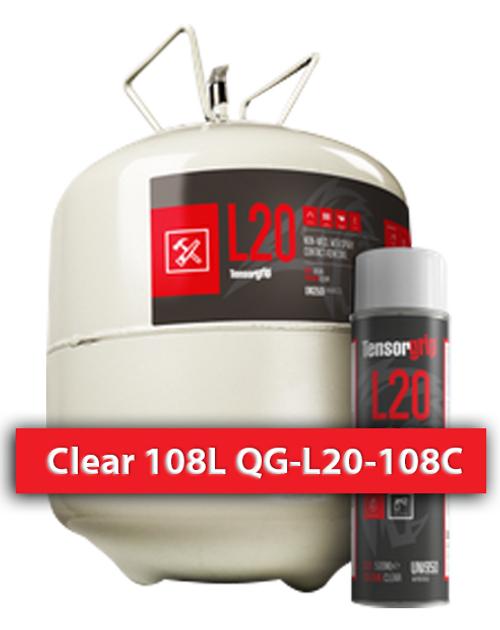 Flamable, High Temprature Contact Adhesive Clear 108 L QG-L20-108C Quin Global TensorGrip