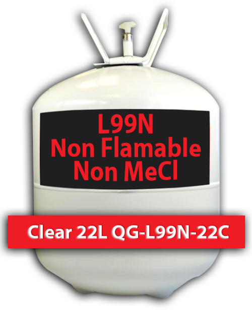 Non Flamable, Non MeCl Contact Adhesive Clear 22 L QG-L99N-22C Quin Global TensorGrip