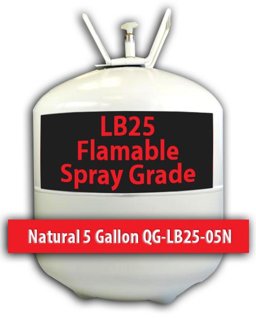 Flamable Spray Grade Contact Adhesive Natural 5 Gallons QG-LB25-05N Quin Global TensorGrip