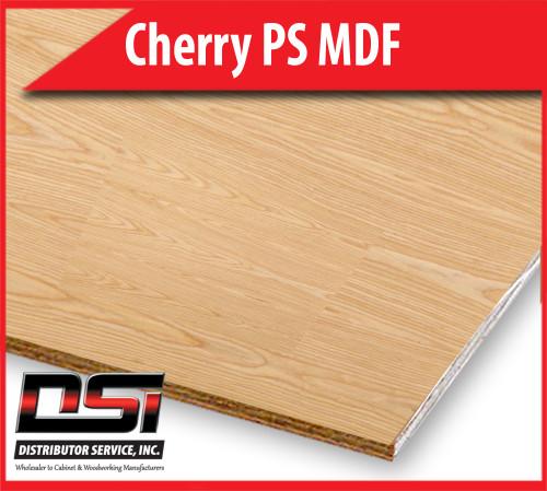 "Cherry Plywood Plain Sliced EuroCore A3 Birch Back 1/4"" x 4x8"