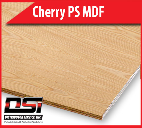 "Cherry Plywood Plain Sliced MDF A1 3/4"" x 4x8"