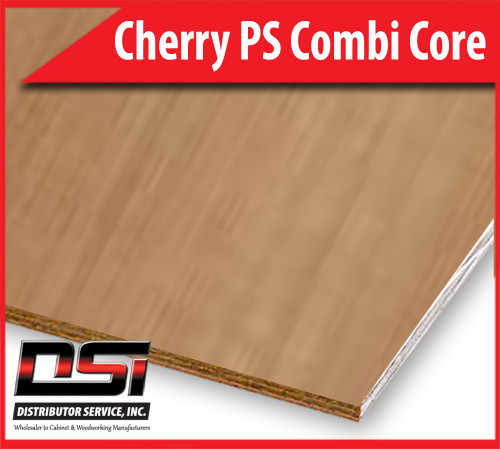 "Cherry Plywood Plain Sliced Combi Core A2 3/4"" x 4x8"