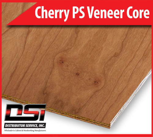 "Cherry Plywood Plain Sliced Veneer Core A1 3/4"" x 4x8"