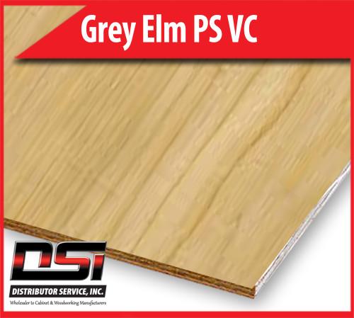 "Grey Elm  Plain Sliced Veneer Core Plywood A-4 1/4"" x 4x8"