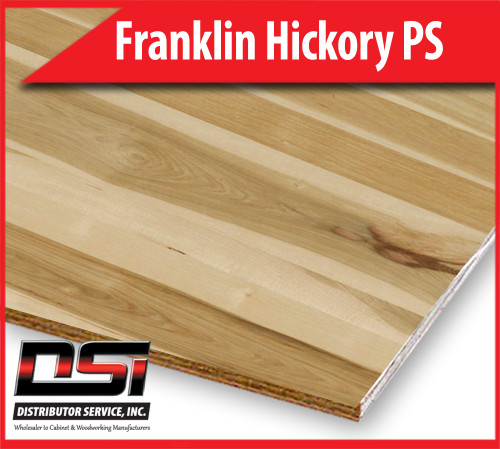 "Hickory Appalachian Franklin Plywood Plain Sliced VC A3 Nat Birch 3/4"" x 4x8"