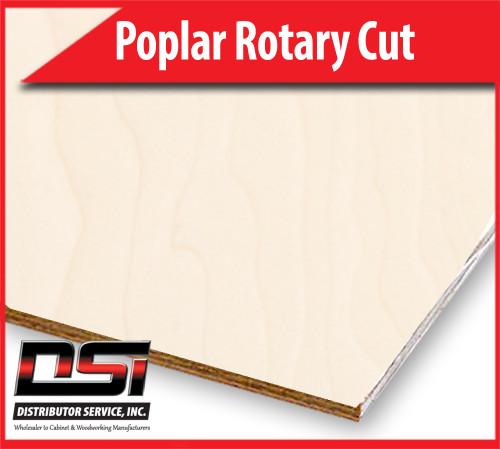 "Poplar Plywood Rotary Cut VC B2 1/2"" x 4x8"