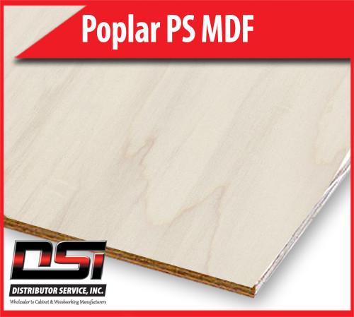 "Poplar Plywood Plain Sliced MDF BB 7/32"" x 4x8"