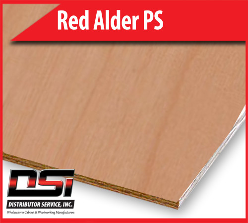 "Red Alder Plywood Plain Sliced VC A1 RM 1/2"" x 4x8"