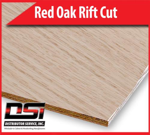 """Red Oak Plywood Rift Cut MDF A1 Rift Back 3/4"""" x 4x8"""