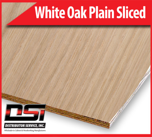 "White Oak Plywood Plain Sliced VC A1 1/2"" x 4x8 CFP"