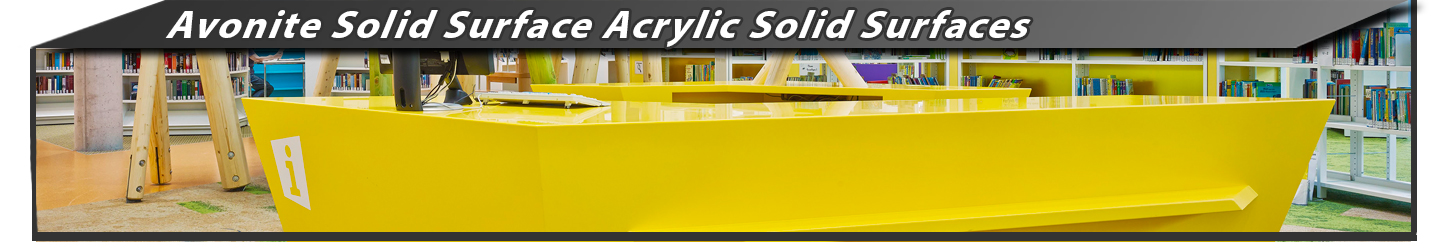 Avonite Solid Surface Acrylic Solid Surfaces