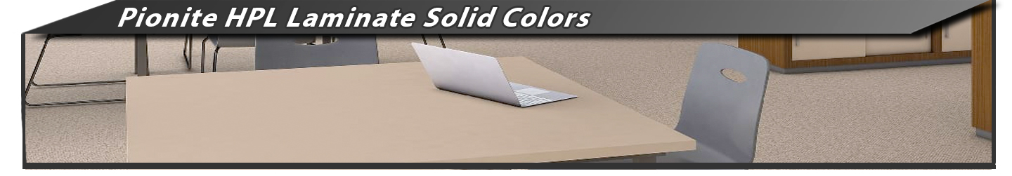 Pionite HPL Solid Colors Laminate Sheets