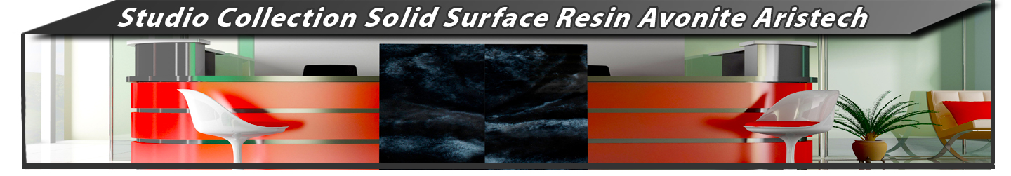 Studio Collection Solid Surface Resin Avonite Aristech