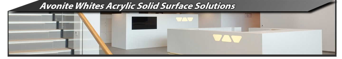 Avonite Whites Acrylic Solid Surface Solutions