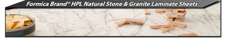 Formica Brand® HPL Natural Stone & Granite Laminate Sheets