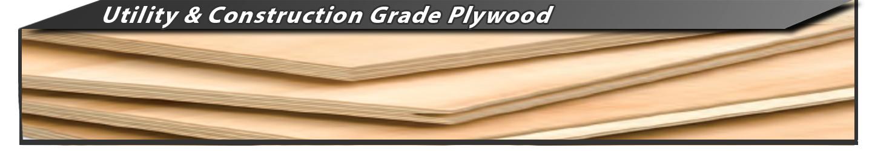 Utility-Grade Construction Grade Plywood