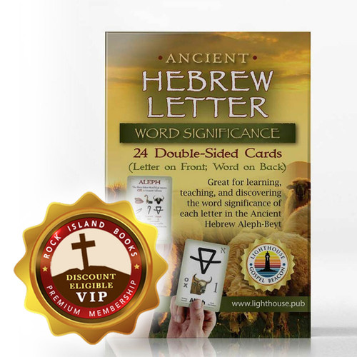 Ancient Hebrew Letter Cards: Word Significance