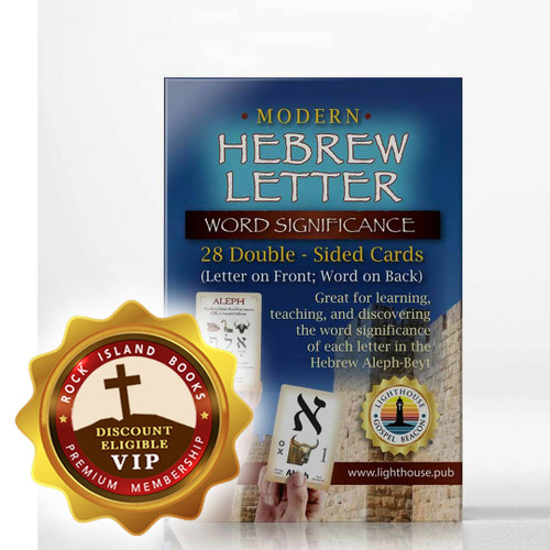 Modern Hebrew Letter Teaching Cards: Word Significance