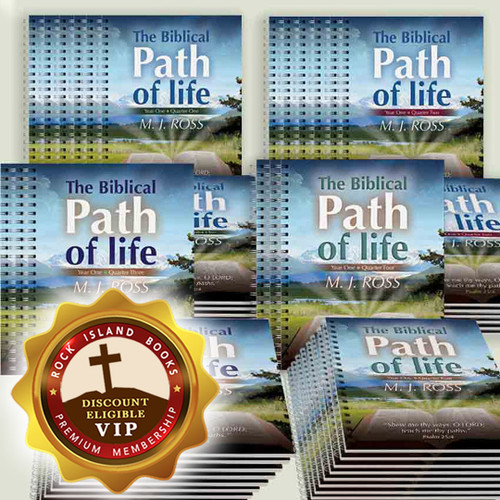 The Biblical Path of Life - Year One (all 4 Quarters, Set of 12)