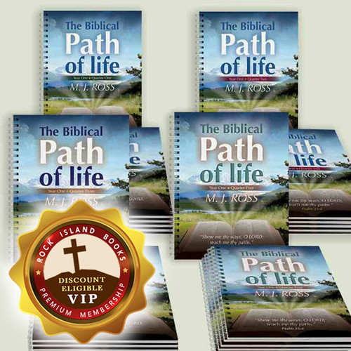 The Biblical Path of Life - Year One (all 4 Quarters, Set of 6)