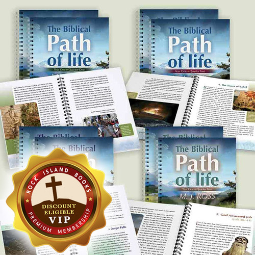 The Biblical Path of Life - Year One (all 4 Quarters, Set of 3)