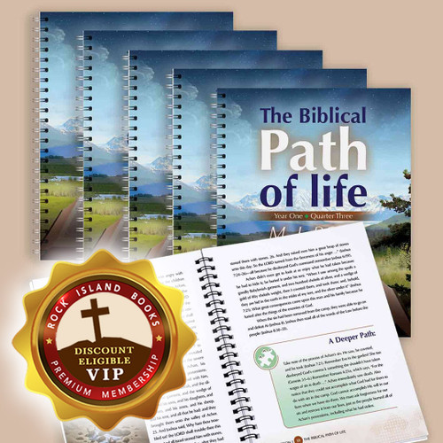 The Biblical Path of Life - Year One: Quarter Three (6 Pack)