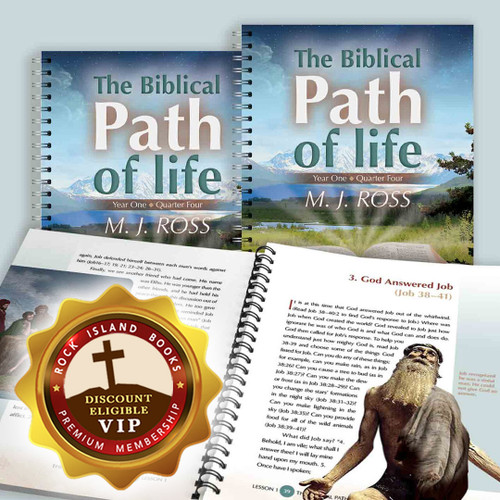 The Biblical Path of Life - Year One: Quarter Four (3 Pack)