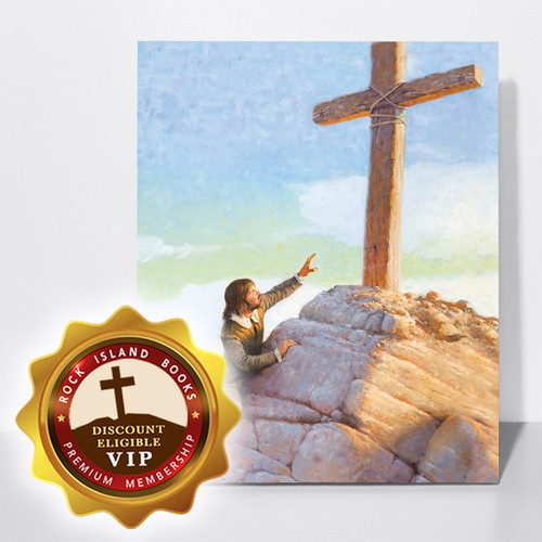 Christian's Burden Falls at the Foot of the Cross: Stretched Canvas