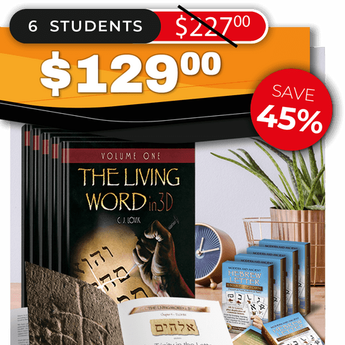 The Living Word in 3D – Volume One (SMALL GROUP 6)
