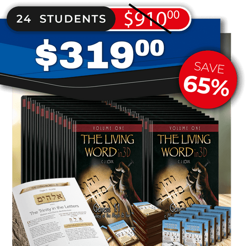 The Living Word in 3D – Volume One (SMALL GROUP 24)