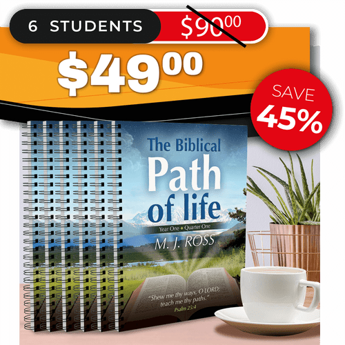 The Biblical Path of Life - Year One: Quarter One (SMALL GROUP 6)