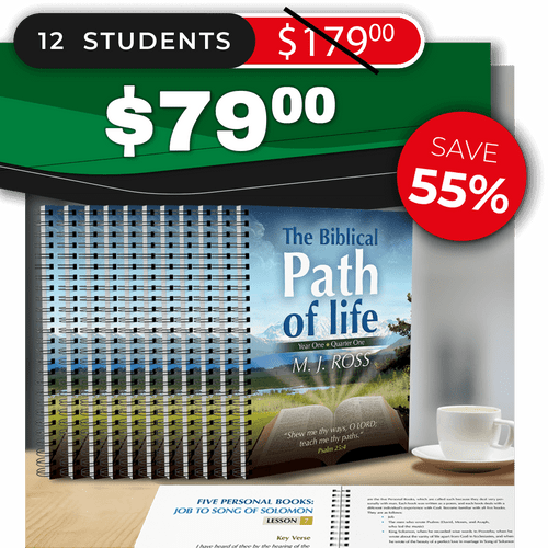 The Biblical Path of Life - Year One: Quarter One (SMALL GROUP 12)