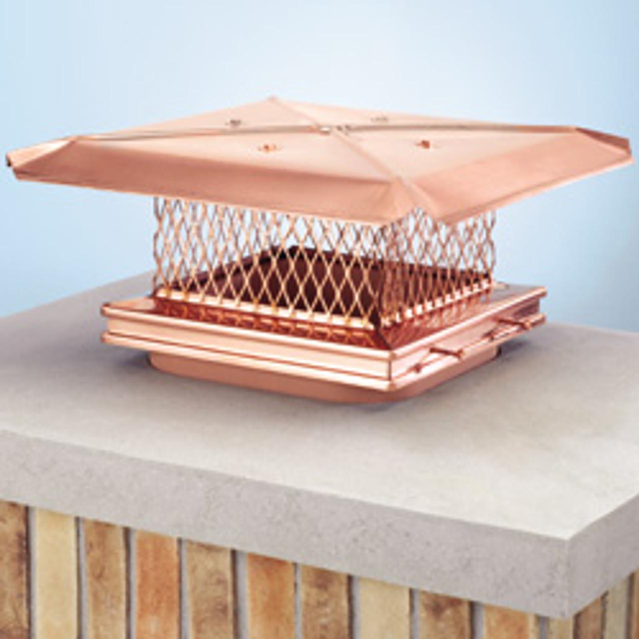 Gelco copper chimney cap