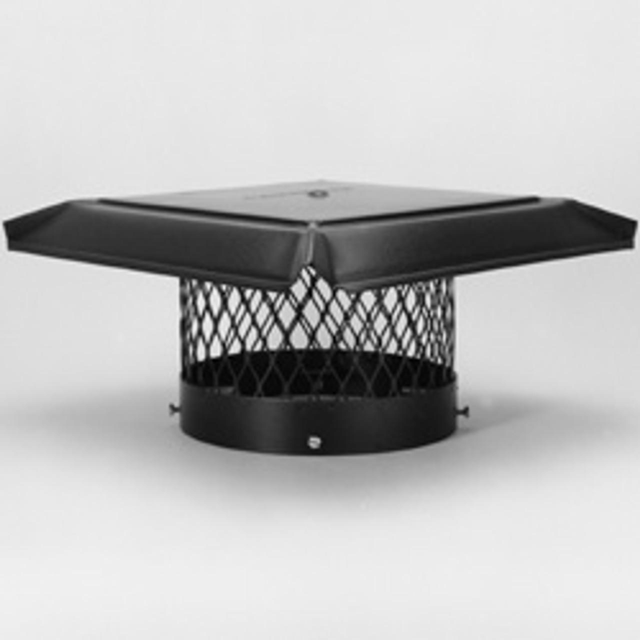 Galvanized round chimney cap