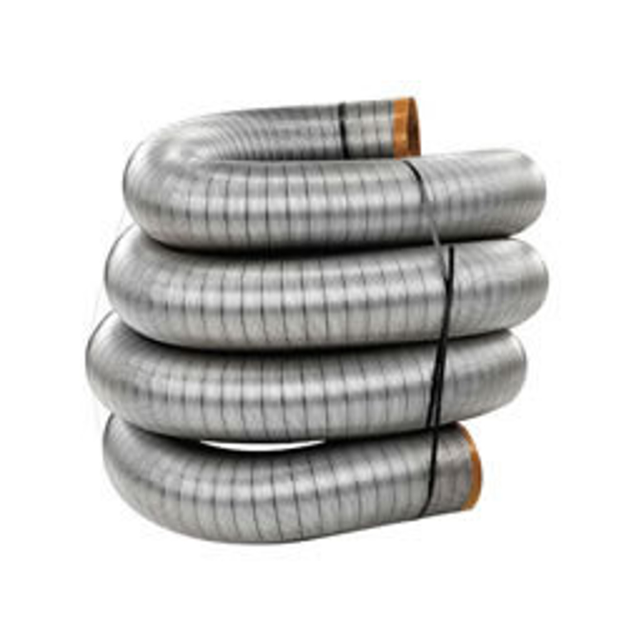 """HomeSaver Ultrapro 316Ti Stainless Steel Chimney Flue Liner (Only) - 3"""""""