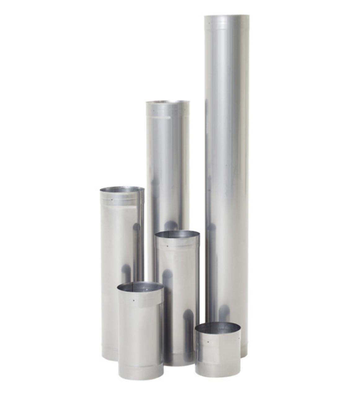 "Rhino Rigid Chimney Liner 304L Stainless - 8"" diameter"