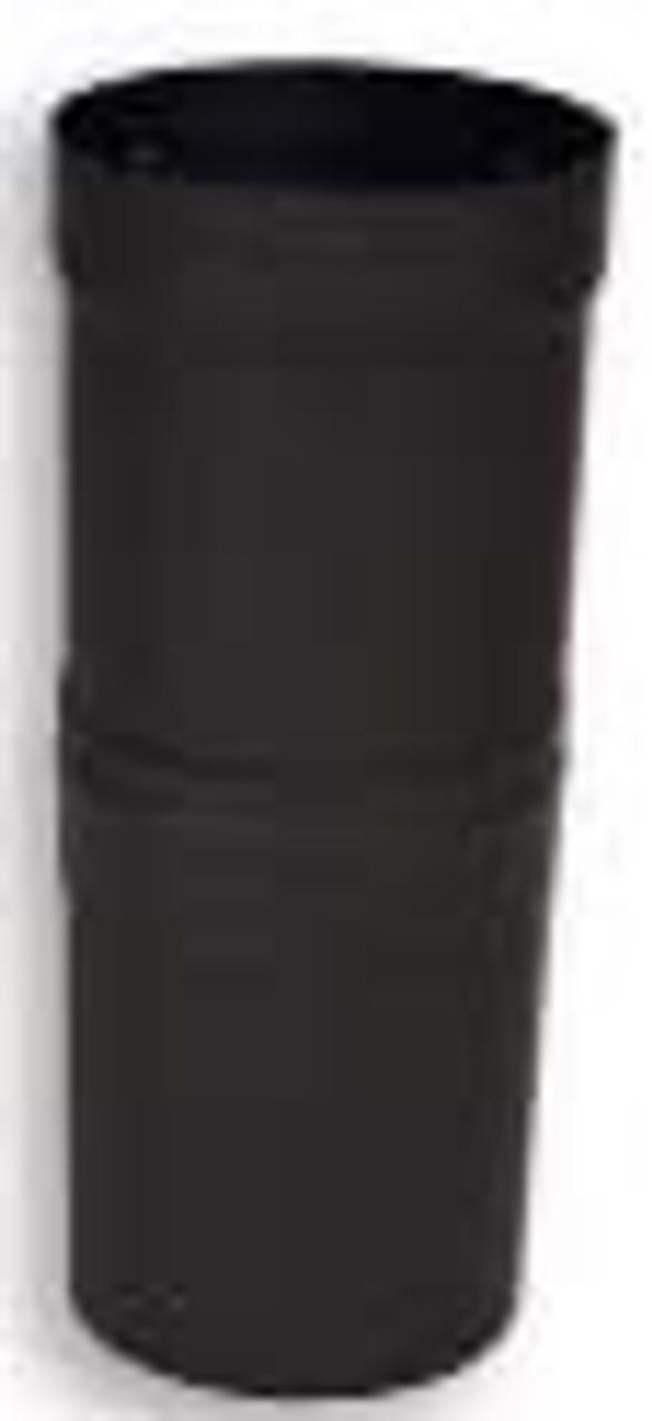 Ventis Black Single Wall Stove Pipe Slip Connector