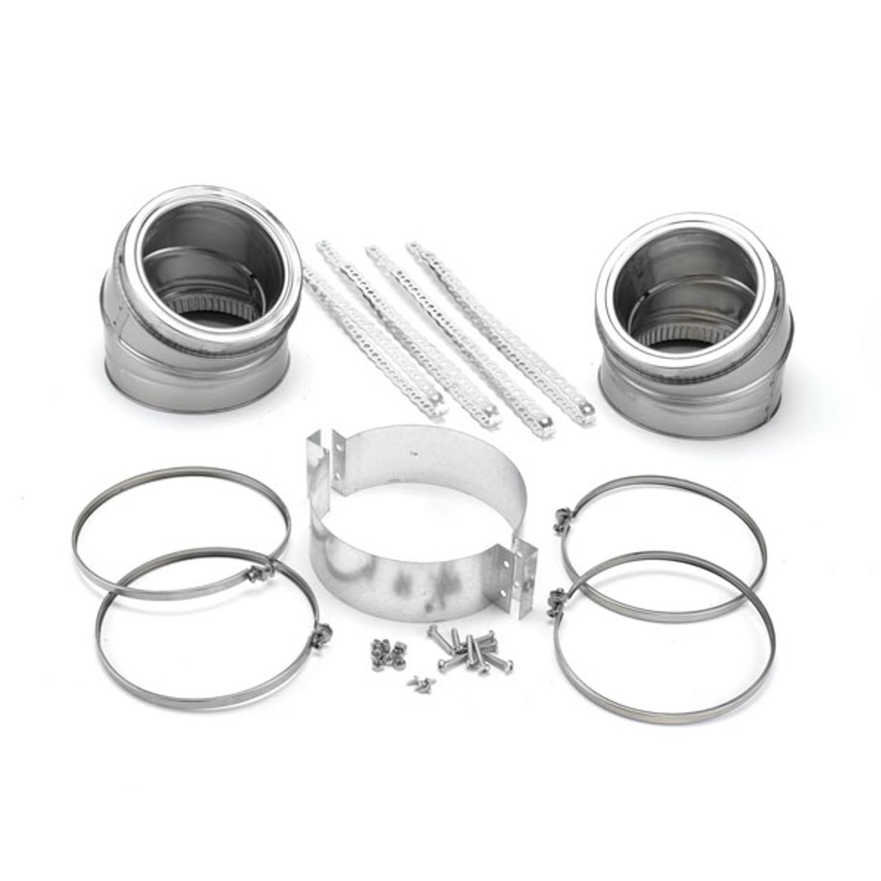 SuperProChimney Elbow Kit - 15 degree insulated