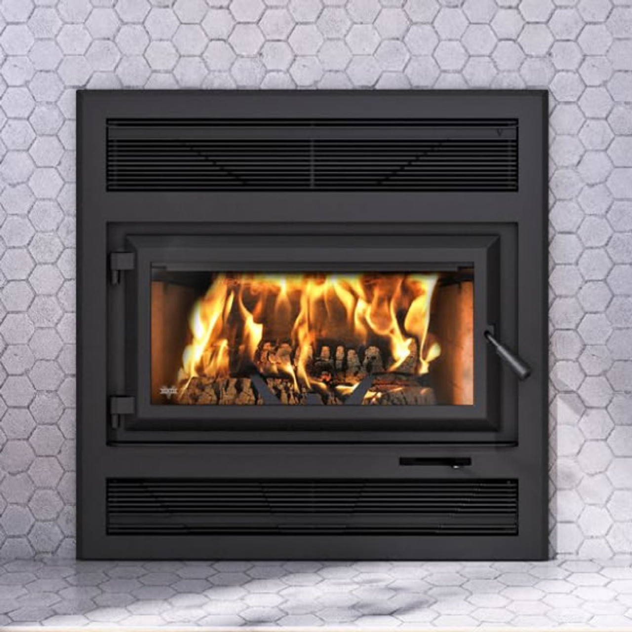 Ventis HE250R ZC Wood Fireplace with Blower -Unit