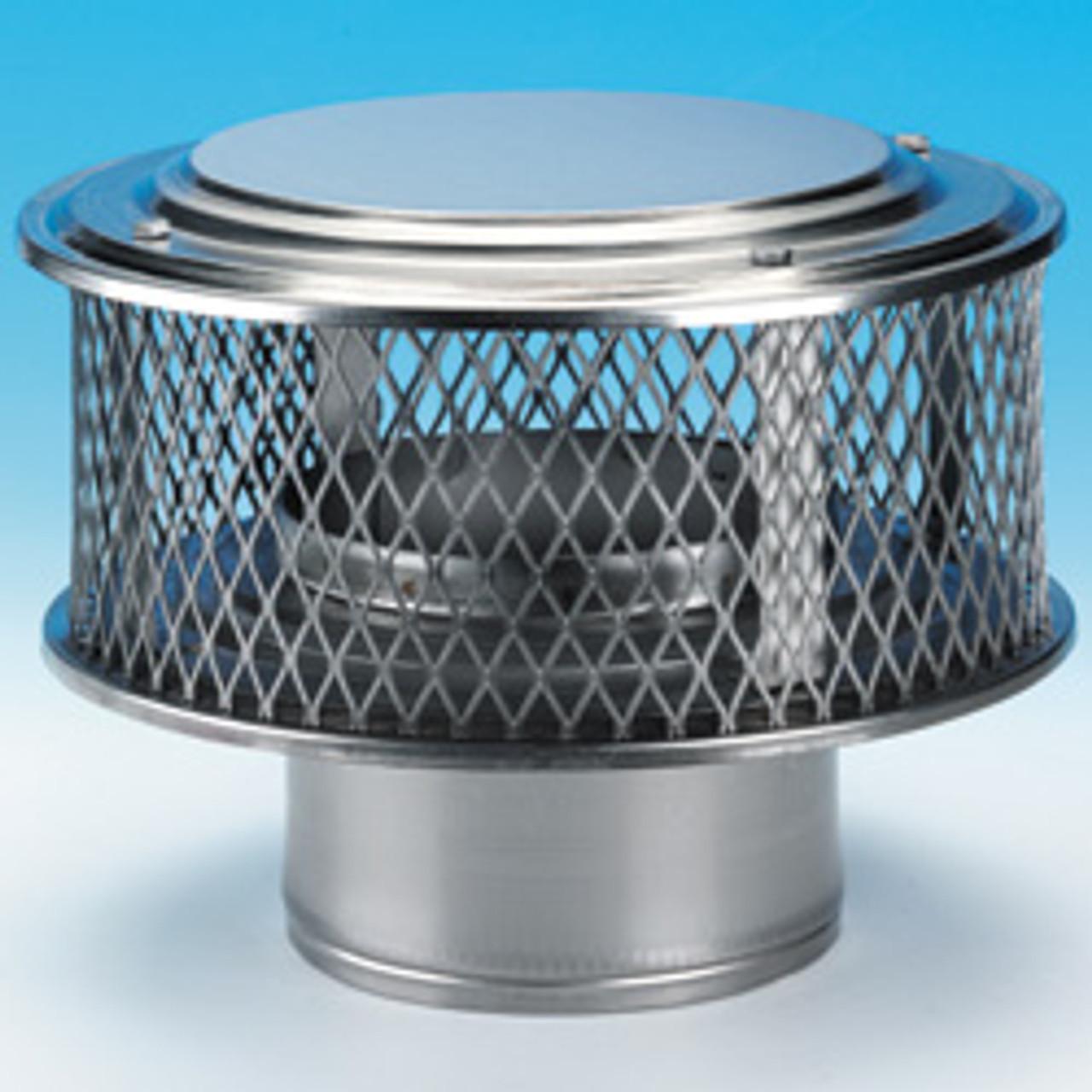 Round chimney cap