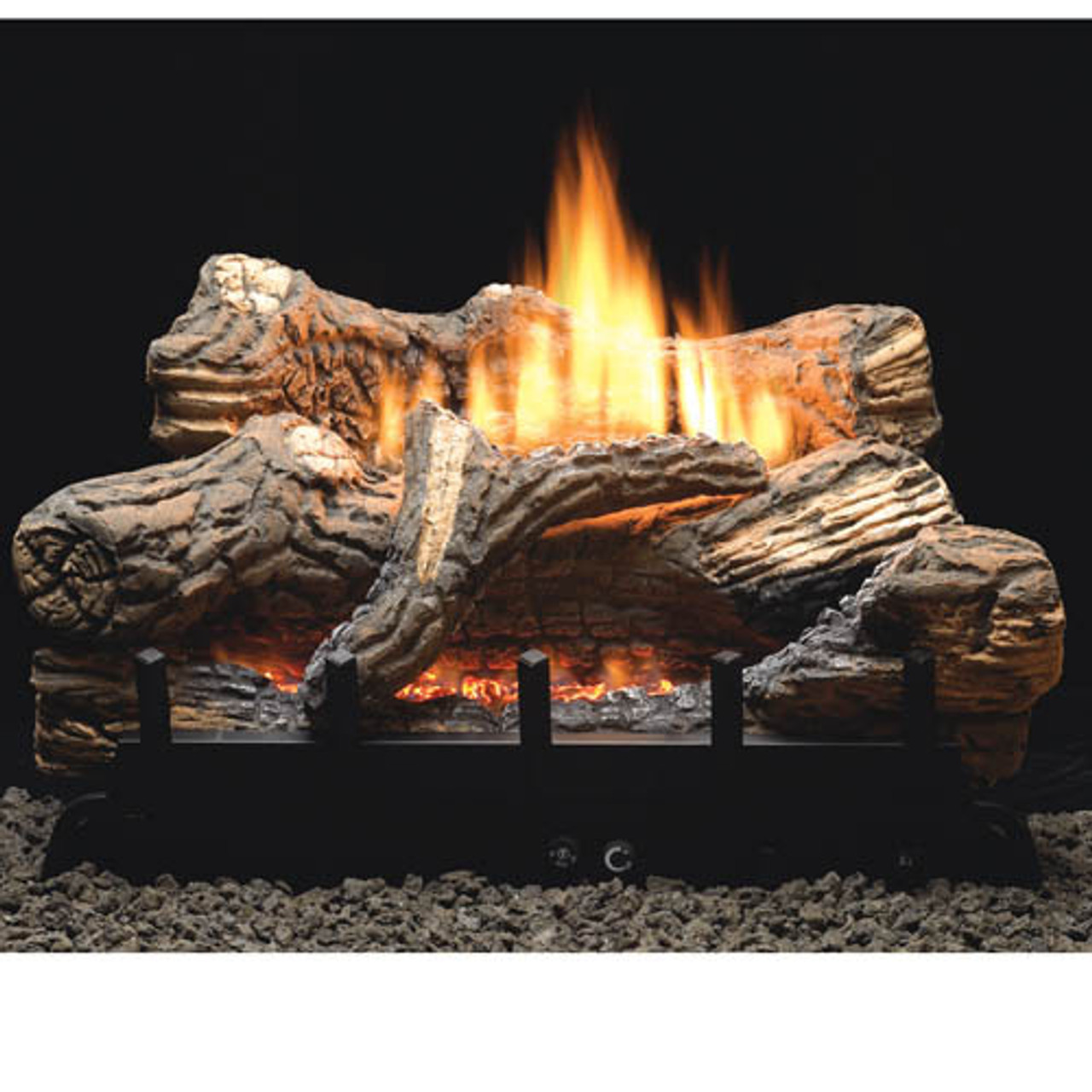 Flint Hill Vent Free Gas Logs - Choose Size - Remote Ready