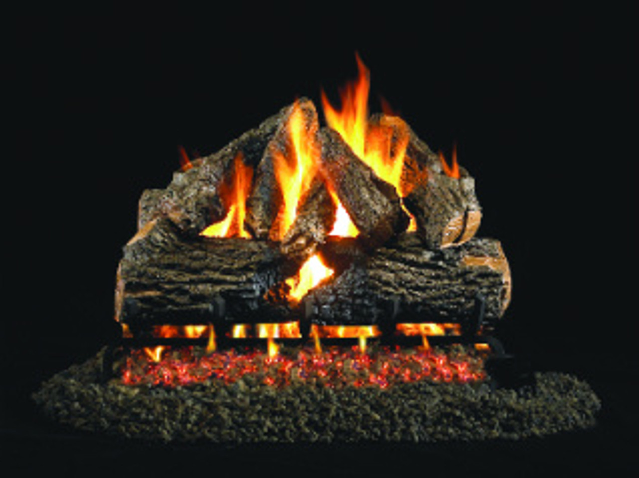 Ventis Burnt Mountain Oak Vented Gas Logs