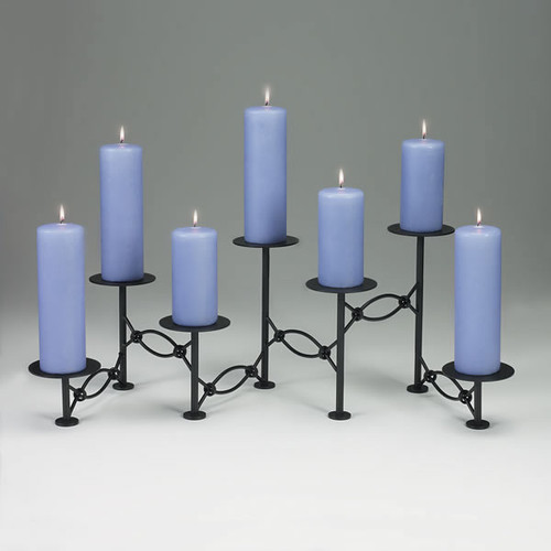 Accordion Candelabra