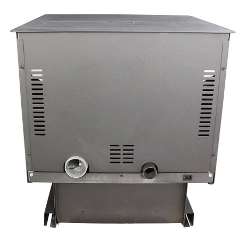 6041 Multi-Fuel (Pellet or Corn) Pedestal Stove