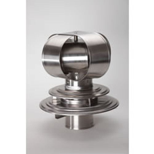 Windbeater for Air Insulated Chimney