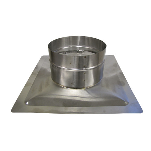 "HomeSaver UltraPro/Pro 18"" x 18"" 304-Alloy Pyramid CollarPlate"